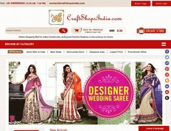 Thumbshot of Craftshopsindia.com