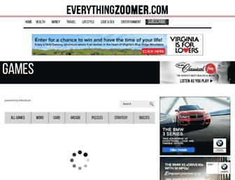 games.everythingzoomer.com screenshot