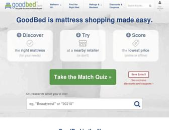 goodbed.com screenshot
