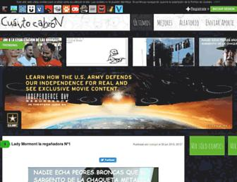 cuantocabron.com screenshot
