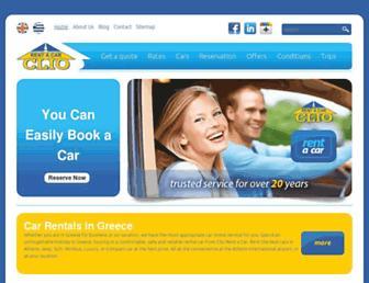 clio-car-rental.com screenshot