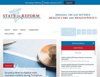 stateofreform.com screenshot