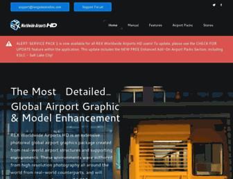 rexworldwideairports.com screenshot