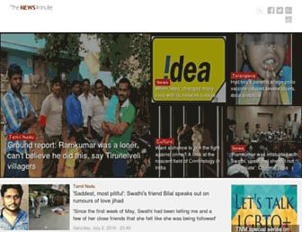 thenewsminute.com screenshot