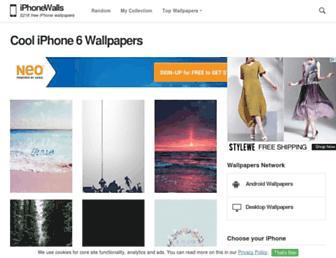 iphonewalls.net screenshot