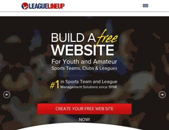 Thumbshot of Leaguelineup.com