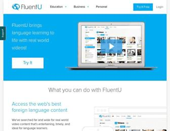 fluentu.com screenshot