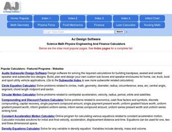 ajdesigner.com screenshot