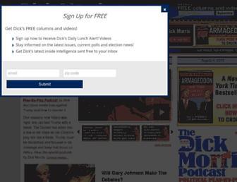 Thumbshot of Dickmorris.com