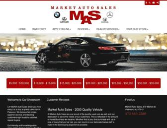 marketautosalesnj.com screenshot
