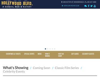 hollywoodblvdcinema.com screenshot