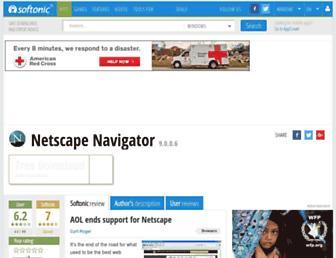 netscape-browser.en.softonic.com screenshot