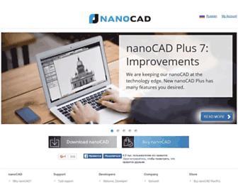 nanocad.com screenshot