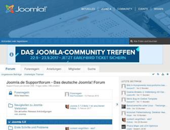 forum.joomla.de screenshot