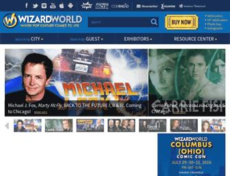 Thumbshot of Wizardworld.com
