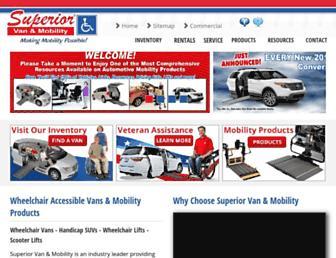superiorvan.com screenshot