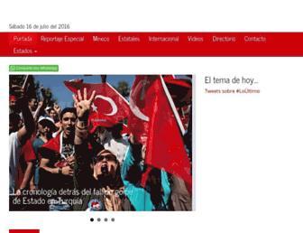 Thumbshot of Telenews.com.mx