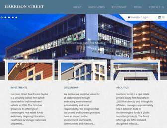 harrisonst.com screenshot
