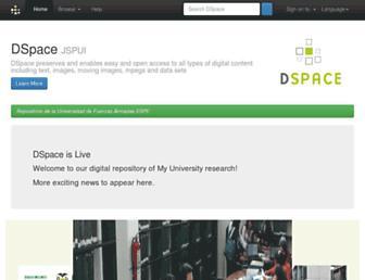 repositorio.espe.edu.ec screenshot