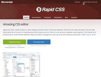 rapidcsseditor.com screenshot