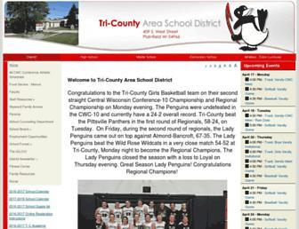 tricounty.k12.wi.us screenshot