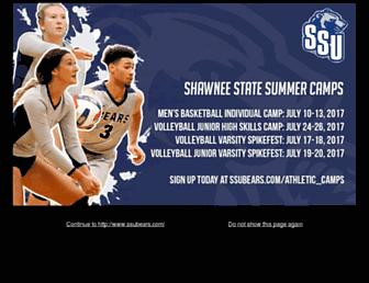 ssubears.com screenshot