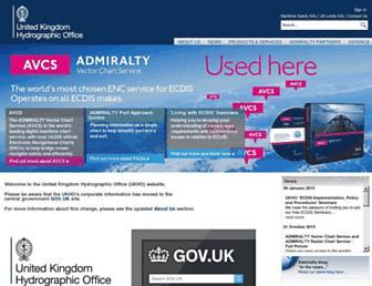 ukho.gov.uk screenshot