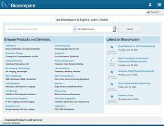 biocompare.com screenshot