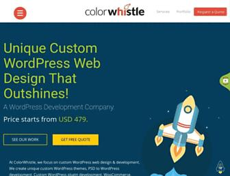 colorwhistle.com screenshot