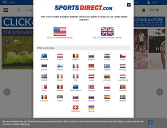 sportsdirect.com screenshot