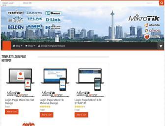adamonline.web.id screenshot