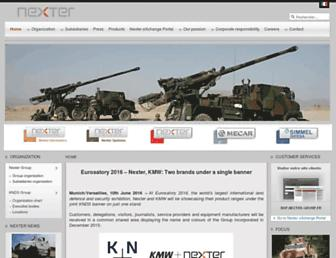 Thumbshot of Nexter-group.fr