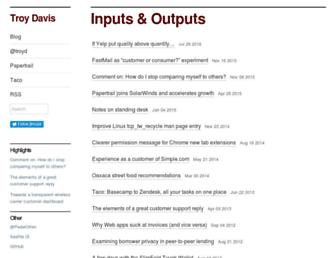 troy.yort.com screenshot