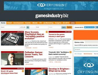 Thumbshot of Gamesindustry.biz