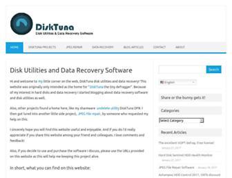 disktuna.com screenshot