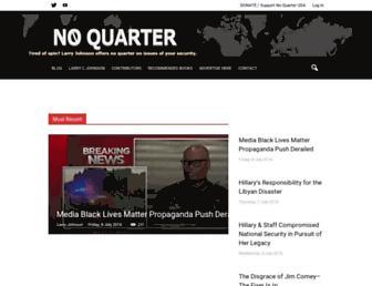 Main page screenshot of noquarterusa.net