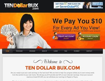 Thumbshot of Tendollarbux.com