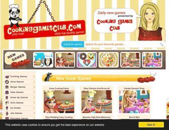 Thumbshot of Cookinggamesclub.com