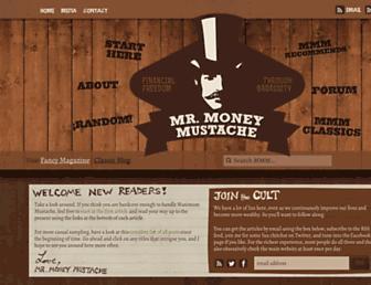 mrmoneymustache.com screenshot
