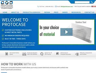 protocase.com screenshot