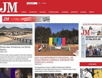 Thumbshot of Jornaldamadeira.pt