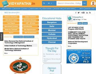 vidyapatha.in screenshot