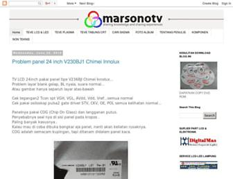 marsonotv.blogspot.com screenshot