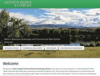 arthurberry.com screenshot