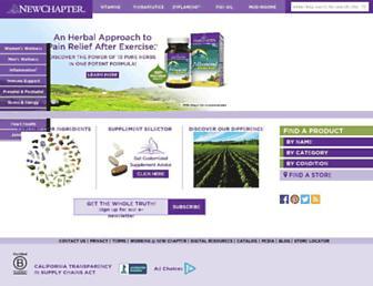 Thumbshot of Newchapter.com