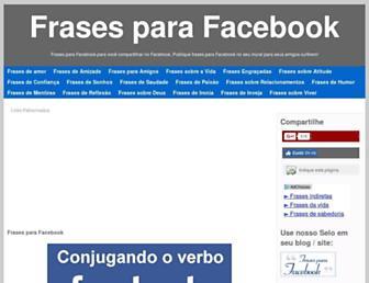 Thumbshot of Frasesfacebook.com.br