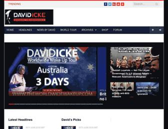 Thumbshot of Davidicke.com