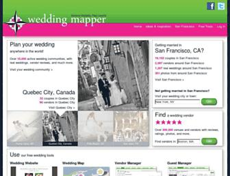Thumbshot of Weddingmapper.com