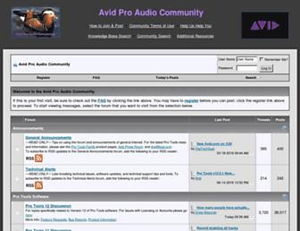 duc.avid.com screenshot