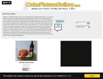 Thumbshot of Cakepicturegallery.com